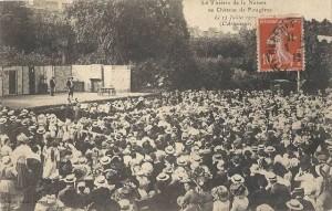 CPA - Fougères (Ille-et-Vilaine) - Le Théâtre de la Nature au Château de Fougères - Le 15 Juillet 1912 - L'Arlésienne