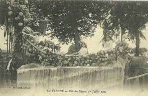 CPA - La Flche (Sarthe) - Fte des Fleurs - 1er Juillet 1912