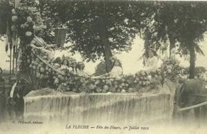 CPA - La Flèche (Sarthe) - Fête des Fleurs - 1er Juillet 1912