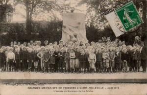 Quiry-Folleville (Somme) - Colonies Amiénoises de Vacances - Août 1912 | Delcampe Lespins