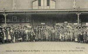 Cercle Amical du Cher et de l'Indre - Retour de vacances dans le Berry - 23 Septembre 1912