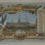 Carte Postale - 1er Congrès de la langue française en Amérique, 1912
