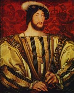 Francois Ier par Jean Clouet, 1525