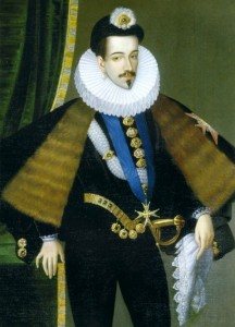 Henri III par Pierre Castan (détail)