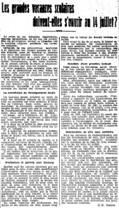L'Ouest-Eclair (Rennes), une du 12 avril 1912