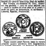 La Croix, une du 4 juillet 1912 (extrait)