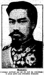 Le Petit Parisien, une du 30 juillet 1912 (extrait)