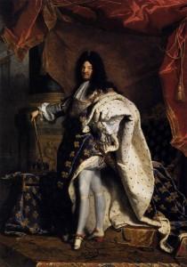 Louis XIV par Hyacinthe Rigaud, 1701