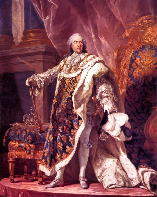 Louis XV par Louis Michel van Loo | Wikipedia