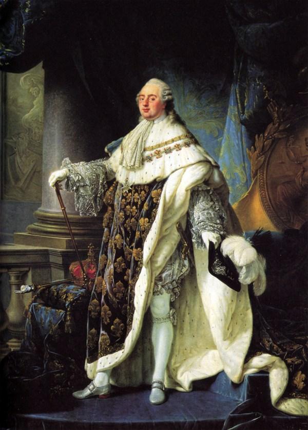 Louis XVI par Antoine Francois Callet, 1779
