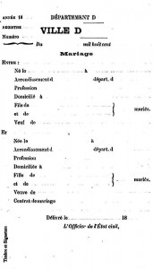 Nouveau Livret de Famille par Félix Moralia, 1888 (extrait)