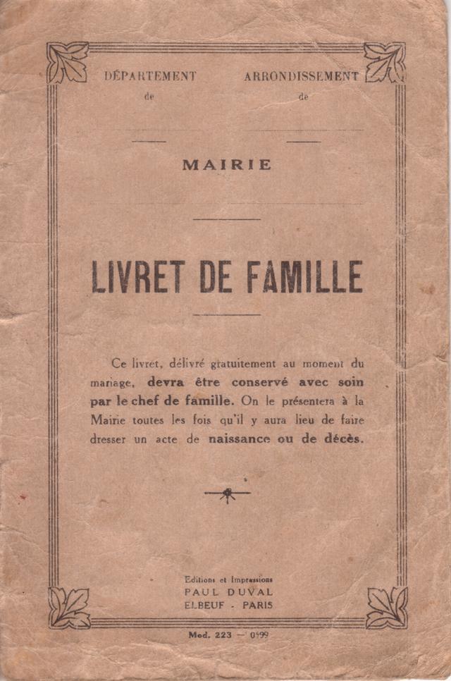 Histoire De L Etat Civil En France 2eme Partie Yvon Genealogie
