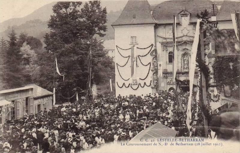 Lestelle-Betharram (Pyrénées-Atlantiques) - Le Couronnement de N.-D. de Betharram - 28 juillet 1912