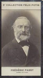 Chromo Collection Félix Potin - Frédéric PASSY, Homme Politique