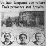 Le Petit Parisien, une du 7 août 1912-08-07 (extrait)