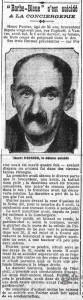 Le Petit Journal, une du 2 septembre 1912 - Henri Poirier