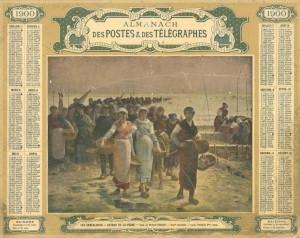 Almanach des Postes et des Télégraphes, 1900
