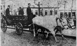 L'Ouest Eclair (Rennes) - une du 6 octobre 1912 - extrait