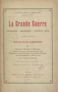 La Grande Guerre, collection Henri BLANC, 1917