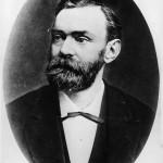 Alfred Bernard NOBEL (1833-1896), chimiste suédois
