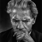 Albert SCHWEITZER (1875-1965), par Yousuf KARSH, 1954