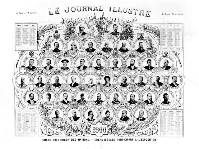 supplément du journal illustré, 1900