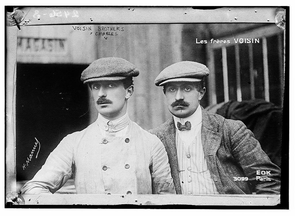 Les frères VOISIN : Gabriel (g.) et Charles (d.) | Library of Congress
