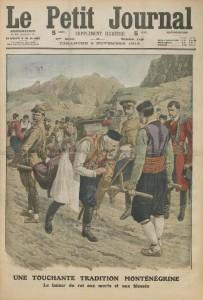 Le Petit Journal, supplément illustré du dimanche 03 novembre 1912, une