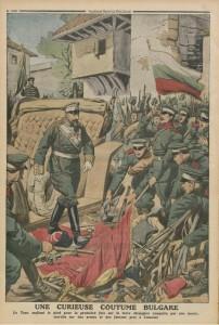 Le Petit Journal, supplément illustré du dimanche 10 novembre 1912, dernière de couverture