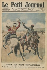 Le Petit Journal, supplément illustré du dimanche 10 novembre 1912, une