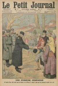 Le Petit Journal, supplément illustré du dimanche 24 novembre 1912, une | Gallica © BnF