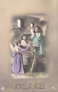 Carte Postale Ancienne - Joyeux Noël, 1912