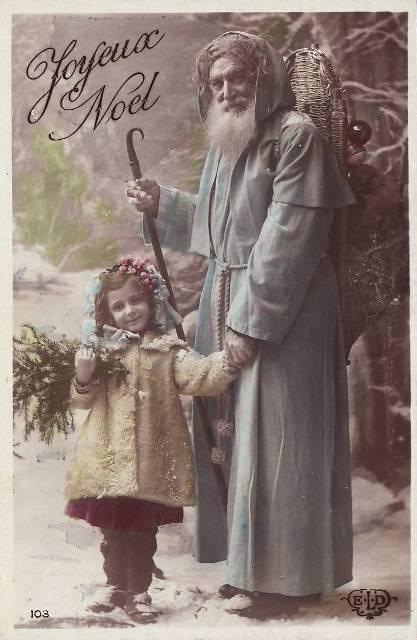 Cartes postales anciennes joyeux no l de 1912 yvon g n alogie - Petites images de noel ...