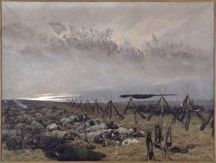 Le Rêve, par Édouard DETAILLE, 1888