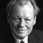 Willy Brandt, , né Herbert Ernst Karl Frahm le 18 décembre 1913 à Lübeck - Chancelier allemand (RFA), prix Nobel de la paix 1971 | Bundesarchiv