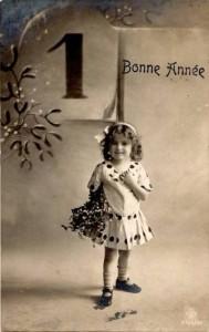 Carte Postale Ancienne - Bonne Année 1913