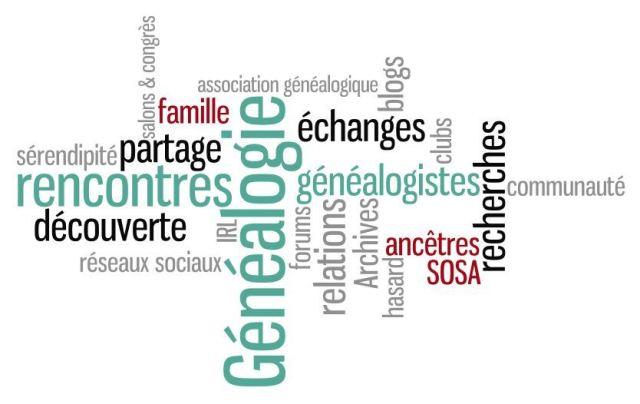 2013 : rencontres et généalogie
