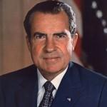 Richard M. Nixon vers 1935, né le 9 janvier 1913 à Yorba Linda, Californie