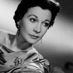 Vivian Mary Hartley, dite Vivien Leigh, née le 5 novembre 1913 à Darjeeling, photographiée en 1955 - actrice anglaise
