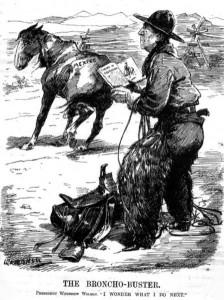 Woodrow Wilson raillé par la presse américaine après l'invasion du Mexique par les États-Unis