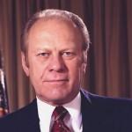 Gerald Rudolph Ford, Jr, né le 14 juillet 1913 à Omaha, Nebraska - 38e président des États-Unis d'Amérique