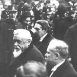 18 février 1913 : Transmission des pouvoirs entre les président Fallières et Poincaré - extrait