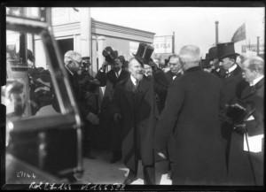 22 février 1913 - Concours agricole - Visite du président Poincaré
