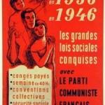 1936-1946, les grandes lois sociales conquises avec le parti communiste français