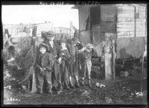 Ivry : les enfants de la zone, 24 janvier 1913 | Agence Ro