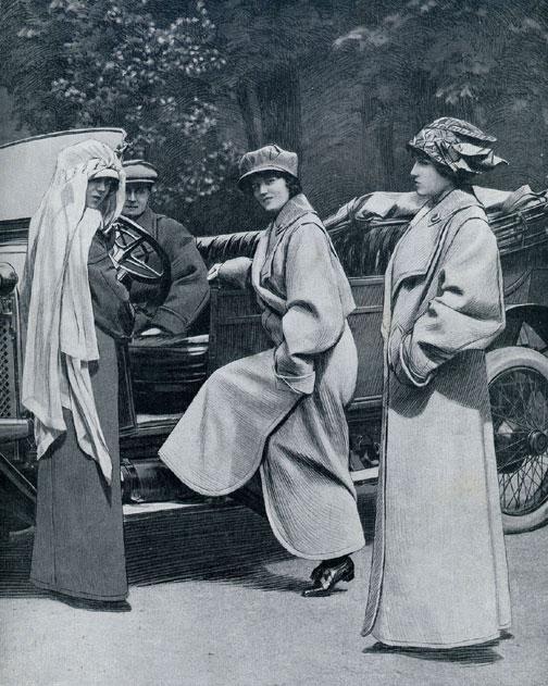 En voiture, 1913