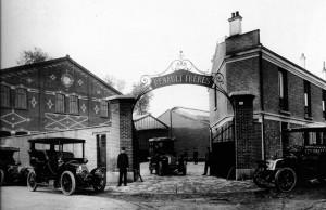 usines Renault Billancourt, début du XXe siècle