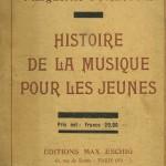 Histoire de la musique pour les jeunes par Marguerite SURLOPPE (1913-1966), compositrice