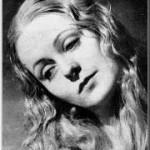 Irène JOACHIM (1913-2001), en 1954, cantatrice soprano