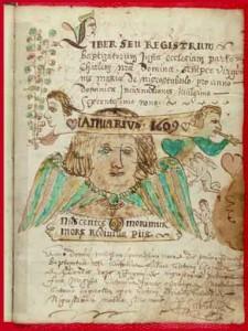 Registre paroissial de Noirétable | Archives départementales de la Loire, cote 2 E 905